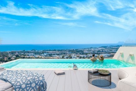 Marbella property with view